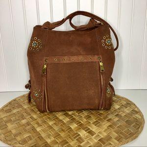The Sak Collective Ojai Rivet Bucket Grommet Bag